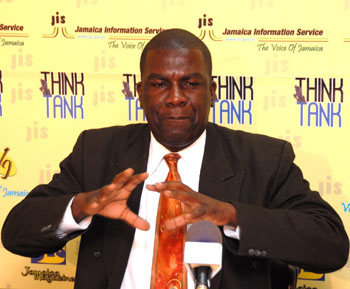 Jamaica Agriculture Society (JAS) President, Senator Norman Grant