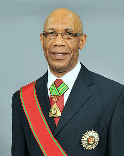 Governor-General, His Excellency the Most Honourable Patrick Linton Allen, ON, CD
