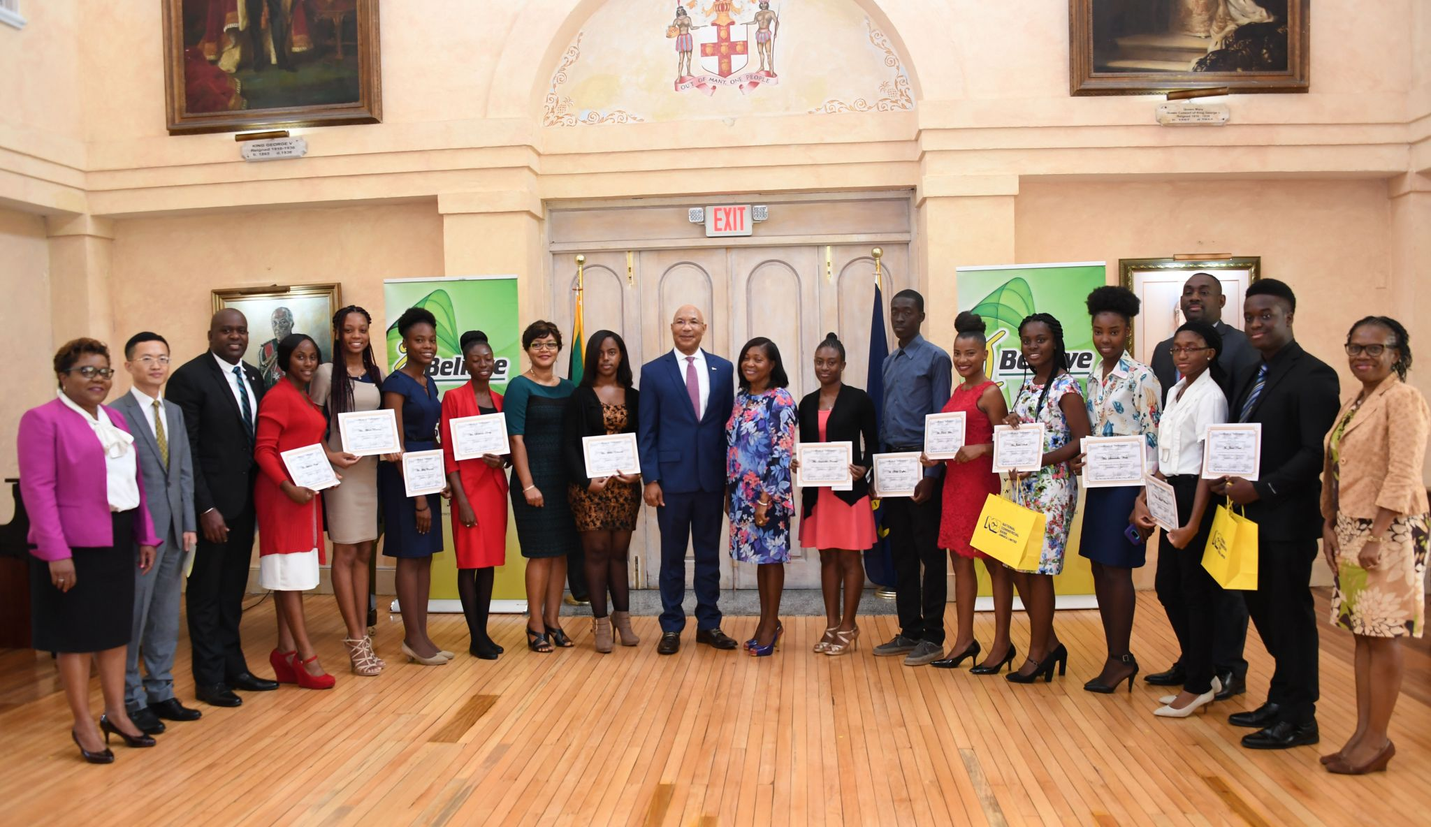 Twelve Students Awarded Scholarships And Grants Under I Believe Summer Of Service Programme