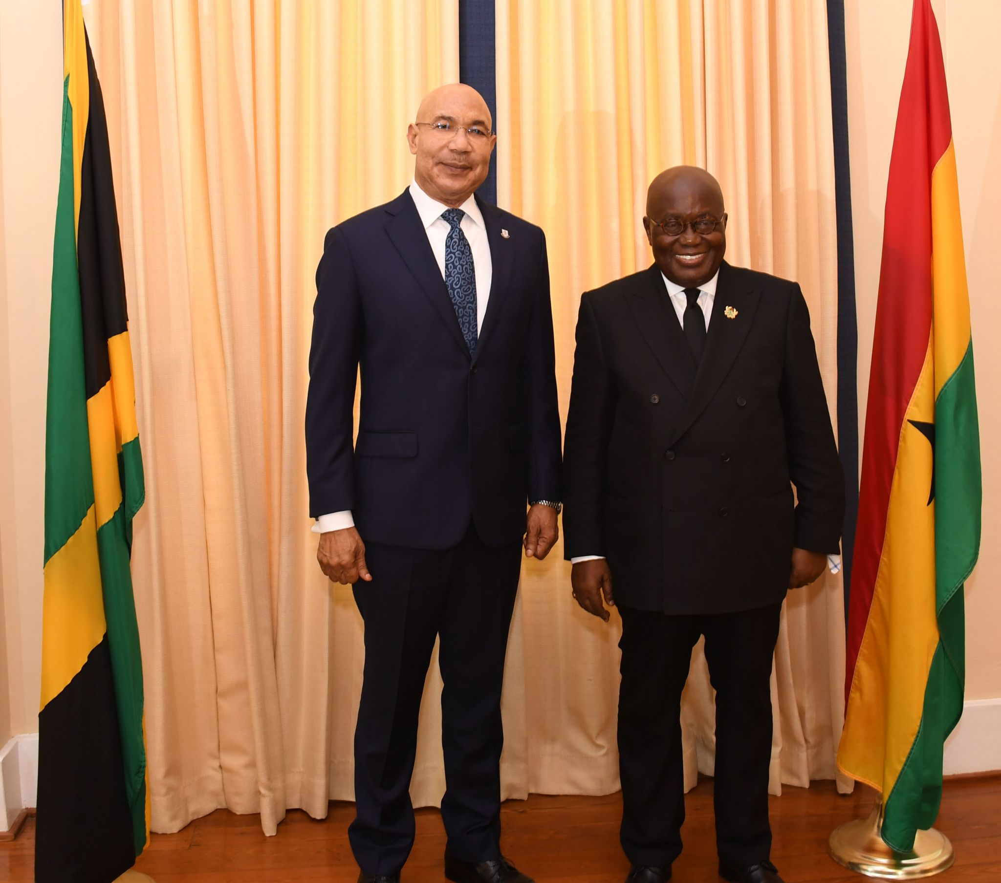 GG Welcomes President of Ghana