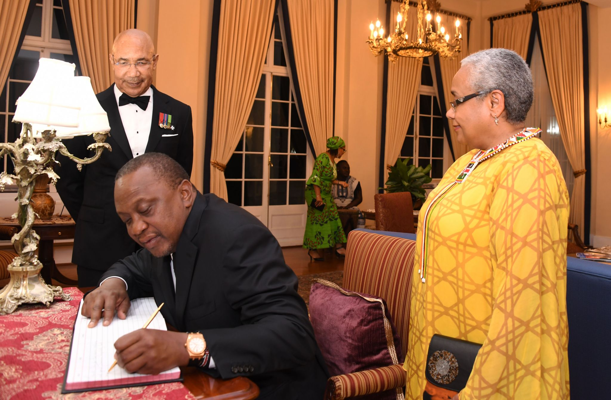 Governor-General underscores solidarity between Jamaica and Kenya