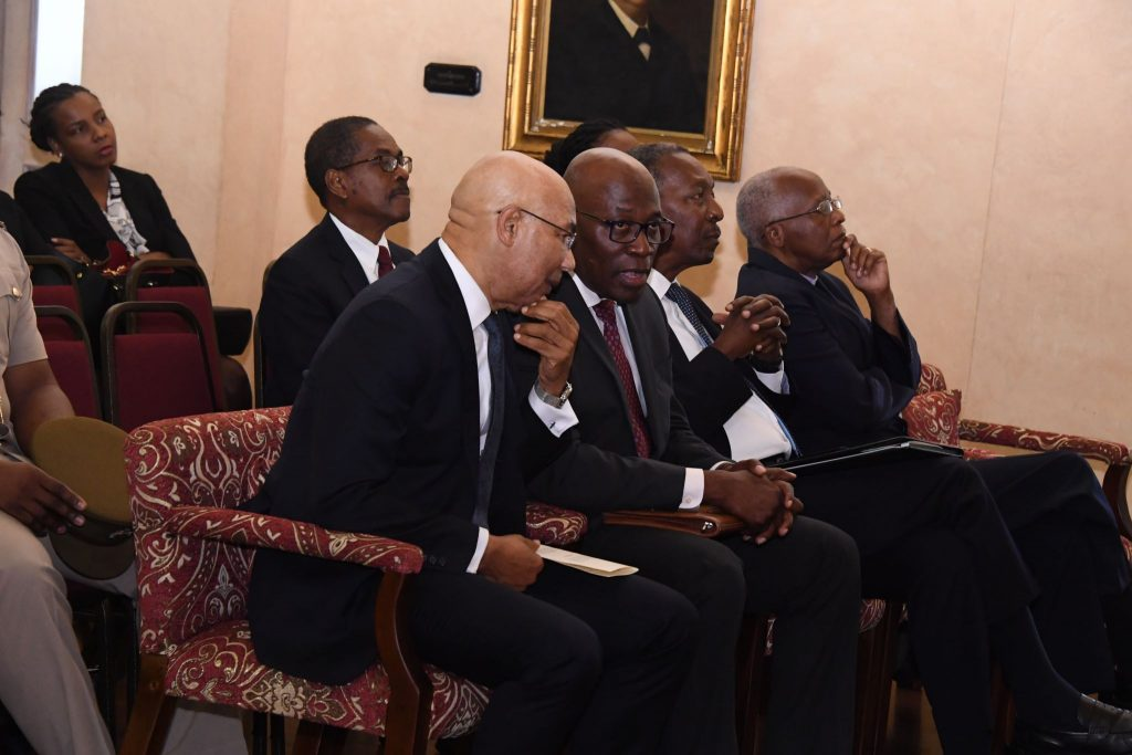 Swearing in of Supreme Court Judges