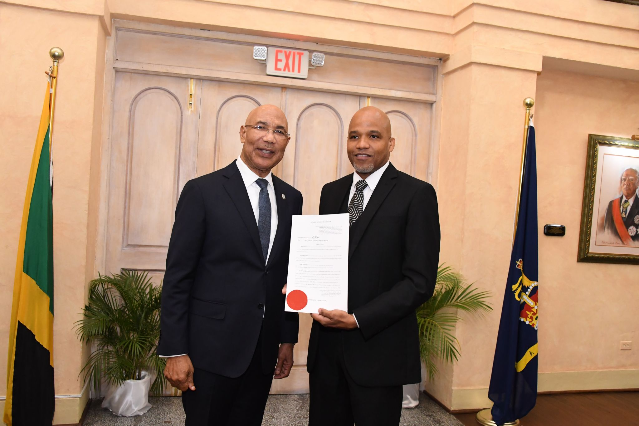Governor- General Swears in Chief Parish Judge