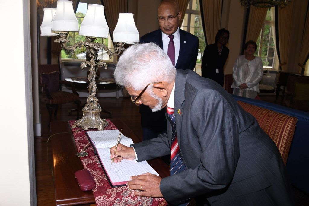 Presentation of Letter of Credence (Trinidad and Tobago)