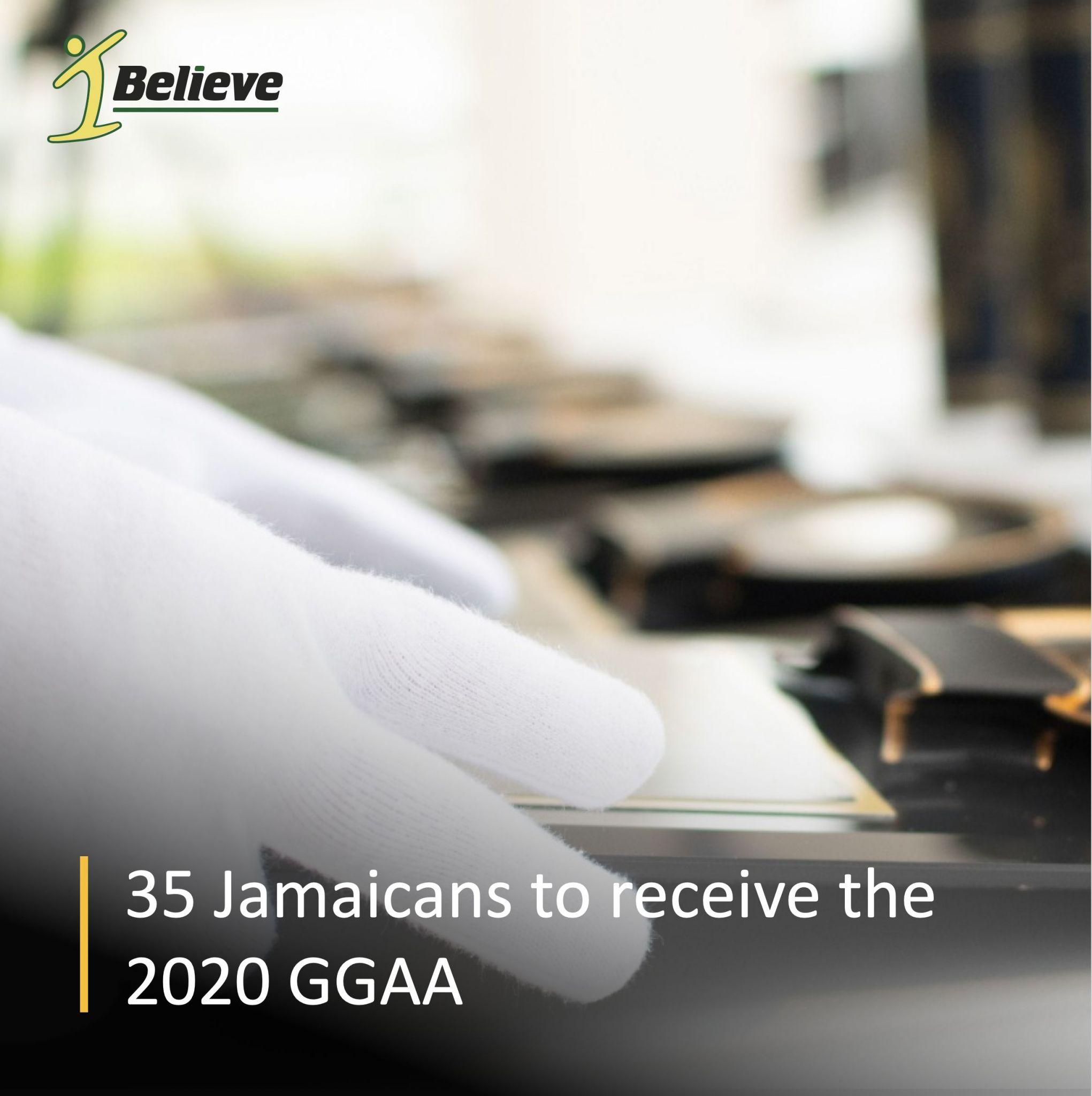 35 Jamaicans Receive 2020 Governor-General's Achievement Award (GGAA)