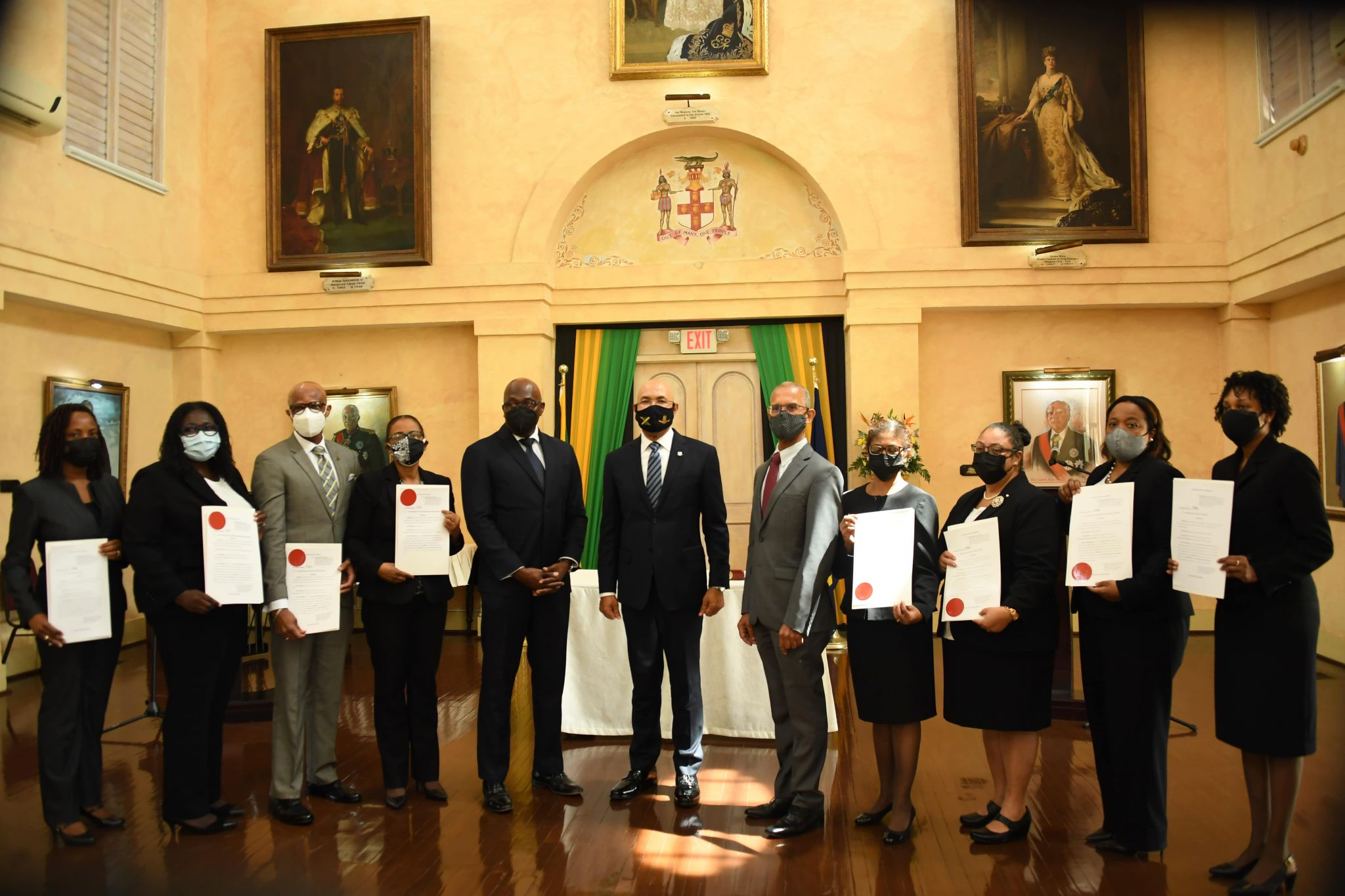 Eight Judges Appointed to the Supreme Court and Court of Appeal