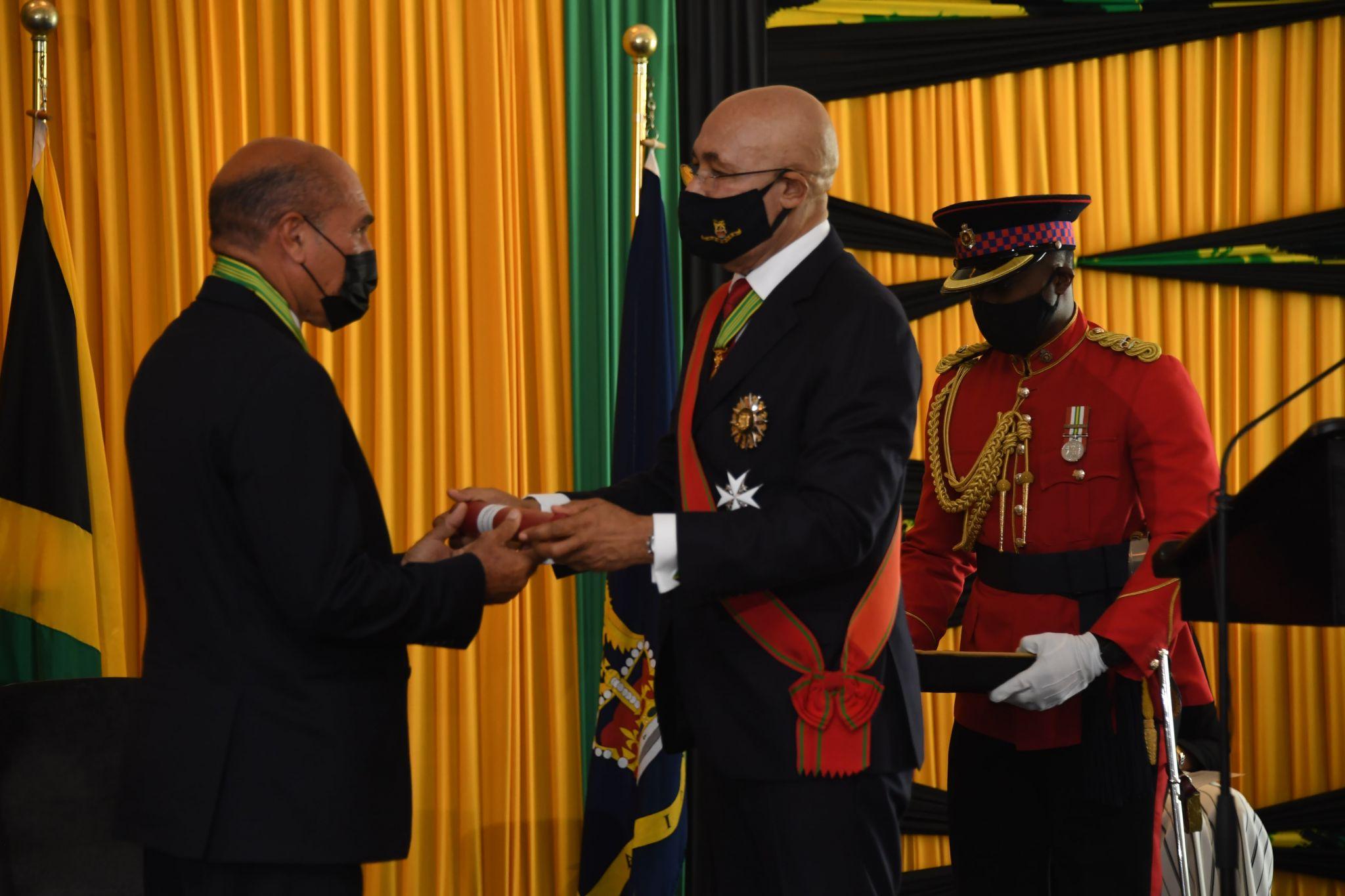 Governor-General Installs Hugh Gentles as Custos of Trelawny